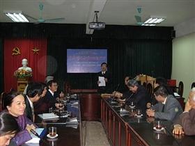 Lễ bảo vệ Đồ án tốt nghiệp K49H